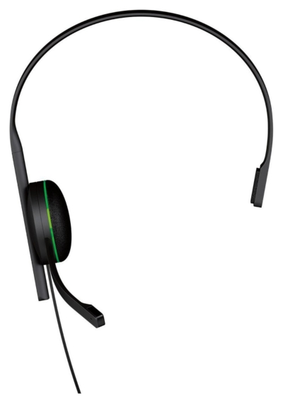 soft Xbox One Chat Headset Full View