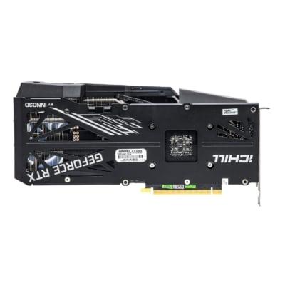 INNO3D RTX 3070 iCHILL X3 Backplate View