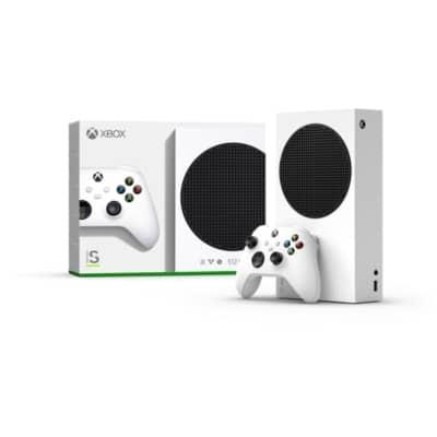 Xbox Series S Box & Console View