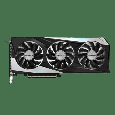 Gigabyte GeForce RTX 3060 GAMING OC 12G Flat View