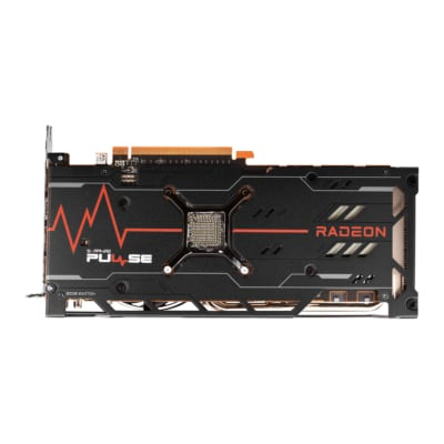 Sapphire PULSE RX 6700 XT 12GB Backplate View