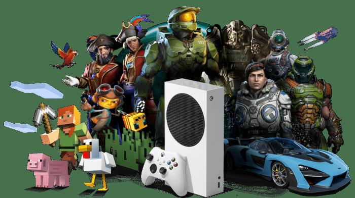 Xbox Series S Poster