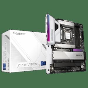 Gigabyte Z590 Vision G Box View