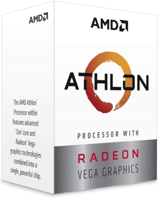 AMD Athlon 3000G Front View Right