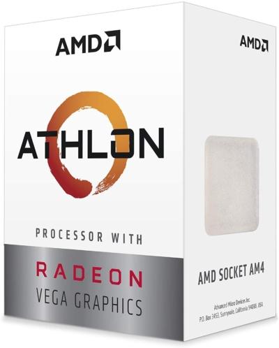 AMD Athlon 3000G Front View Left