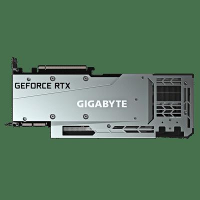Gigabyte GeForce RTX 3090 GAMING OC 24G Backplate View