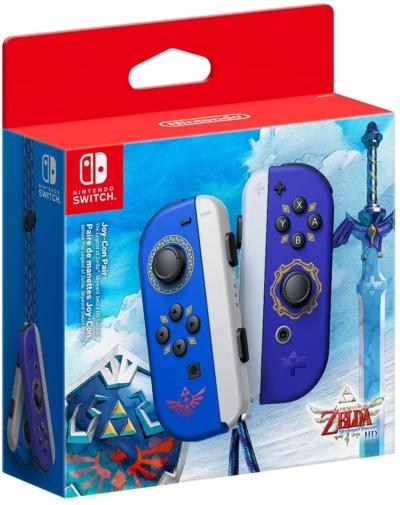 Legend of Zelda Joy-Cons Box View