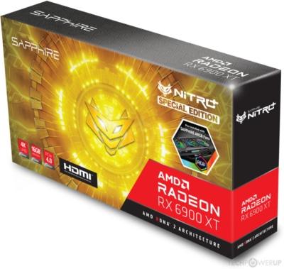 Sapphire NITRO+ RX 6900 XT SE Box View
