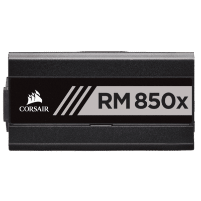 Corsair RM850x Black Side View