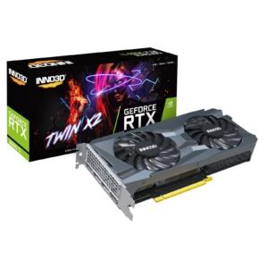 Inno3D RTX 3060 Ti Twin X2 OC Box View