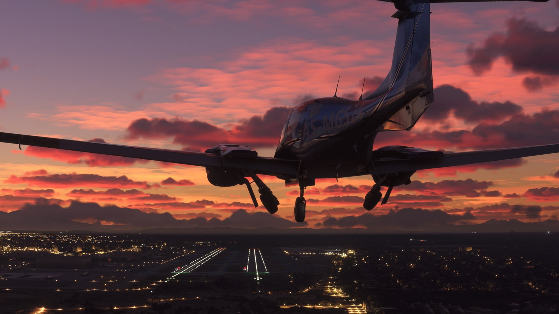 Microsoft Flight Simulator 2020 Poster