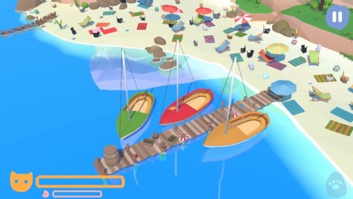Summer Paws Nintendo Switch Screenshot