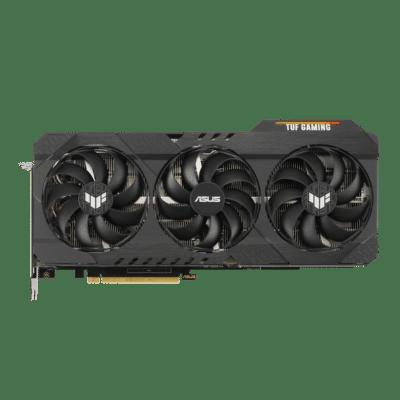 ASUS TUF GAMING GeForce RTX 3070 Ti OC Vertical Fan View