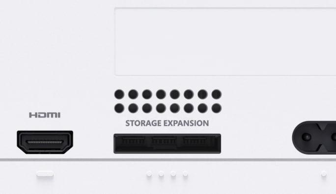 Xbox Series S Expandable Storage Illustration
