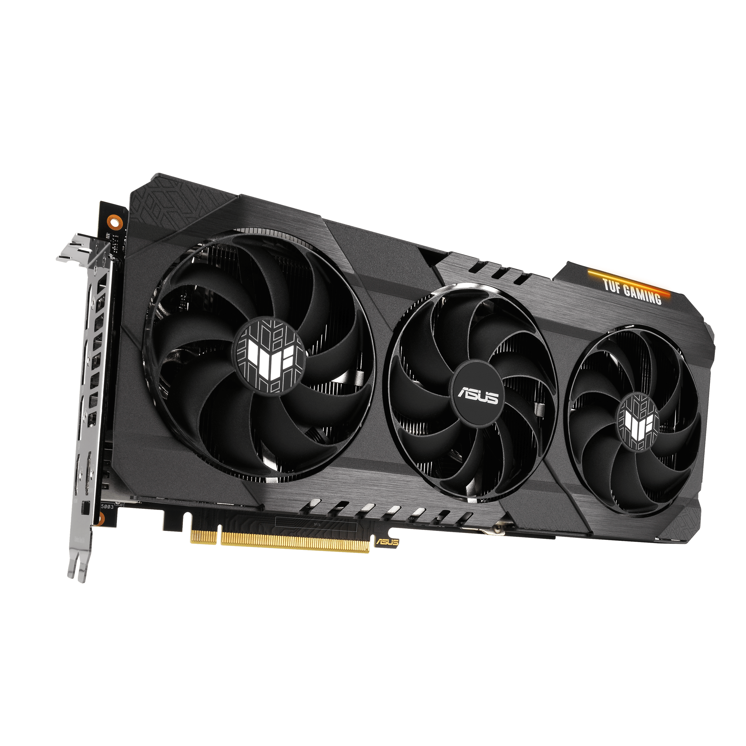 ASUS TUF GAMING GeForce RTX 3070 Ti OC Vertical View