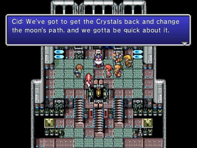 Final Fantasy IV Narrative Screenshot