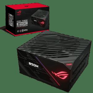 ASUS ROG Thor Platinum 850W Box View