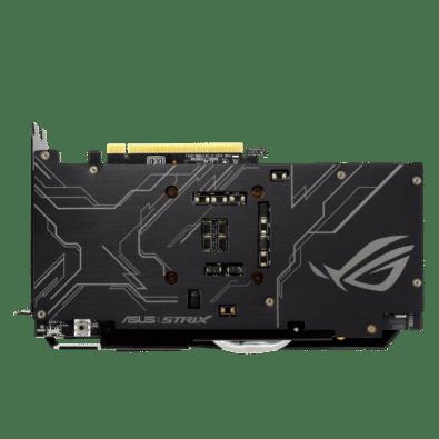 ROG Strix GeForce GTX 1660 SUPER Backplate View
