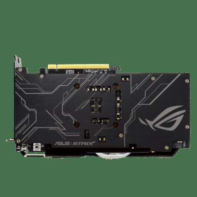 ROG Strix GeForce GTX 1660 SUPER Advanced Edition Backplate View