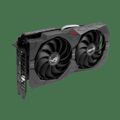 ROG Strix GeForce GTX 1660 SUPER Vertical View