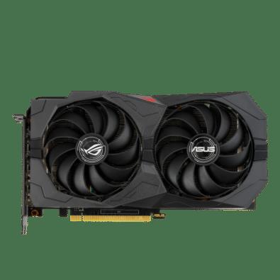 ROG Strix GeForce GTX 1660 SUPER Flat View