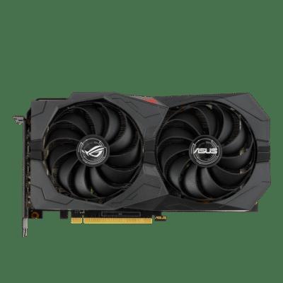 ROG Strix GeForce GTX 1660 SUPER Advanced Edition Flat View