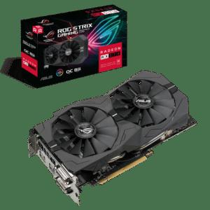 ASUS ROG Strix RX570 OC Edition 8GB Box View