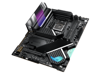 ASUS ROG MAXIMUS XIII APEX Angled Flat View