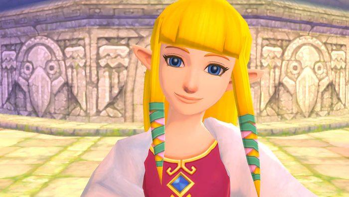 The Legend of Zelda: Skyward Sword HD Zelda Poster