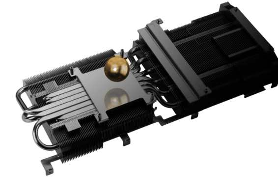 ASUS TUF GAMING GeForce RTX 3090 Heatsink Illustration