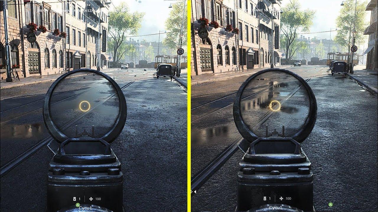 Battlefield 5 Ray Tracing Comparison