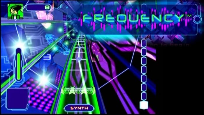 Frequency Video Game Screenshot