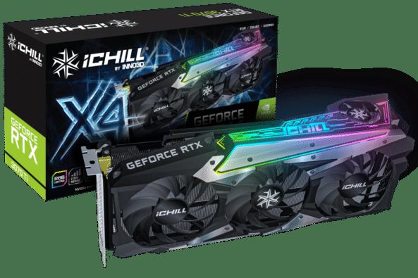 INNO3D RTX 3070Ti iCHILL X4 OC Box View