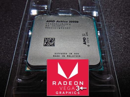 AMD Athlon 3000G Processor Image