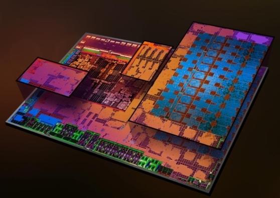 AMD Radeon Vega 3 GPU Illustration