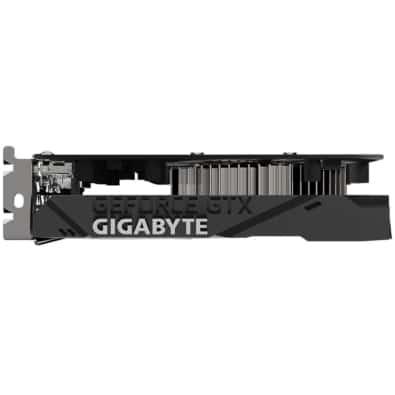 Gigabyte GTX 1650 OC 4GB Single Fan Side View