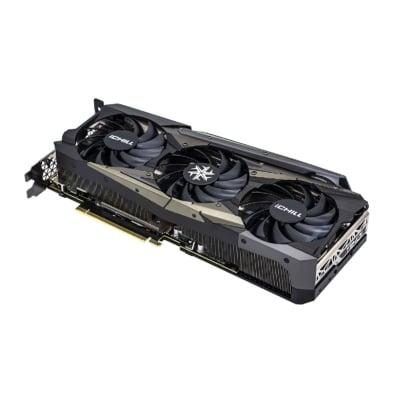Inno3D GeForce RTX 3080 Ti iCHILL X4 Flat Fan View