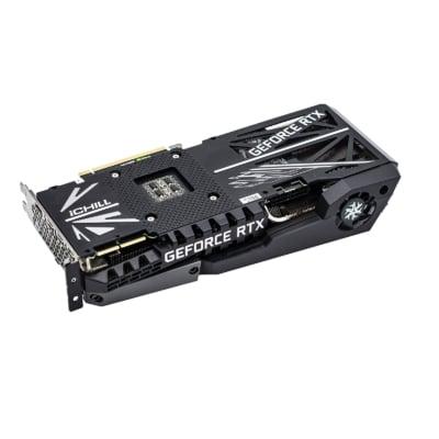 Inno3D GeForce RTX 3080 Ti iCHILL X4 Backplate View