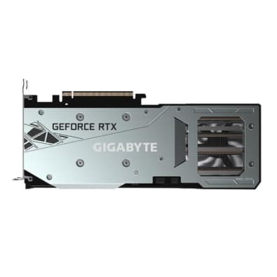 Gigabyte RTX 3060 Ti GAMING OC LHR Backplate View
