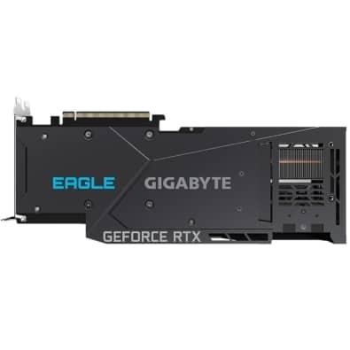 Gigabyte RTX 3080 Ti Eagle Backplate View