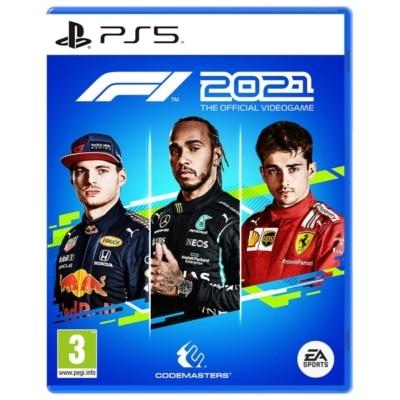 F1 2021 PS5 Box Art