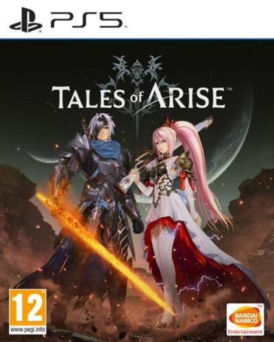 Tales of Arise Box Art PS5