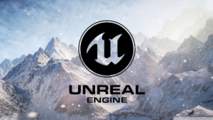 Unreal Engine Logo Poster
