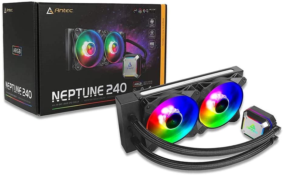 Antec Neptune 240 ARGB Box View