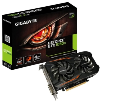 Gigabyte GTX 1050 Ti OC 4GB Box View