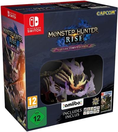 Monster Hunter Collector's Edition amiibo Box