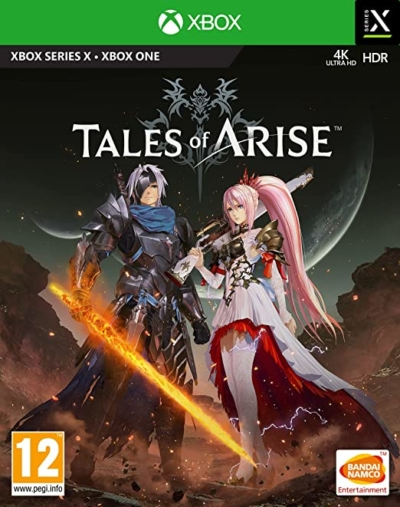 Tales of Arise Box Art Xbox