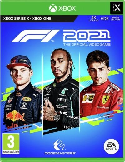 F1 2021 Xbox Series X Box Art 2