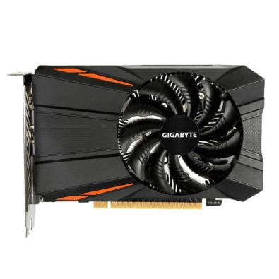 Gigabyte GTX 1050 Ti 4GB D5 Flat View