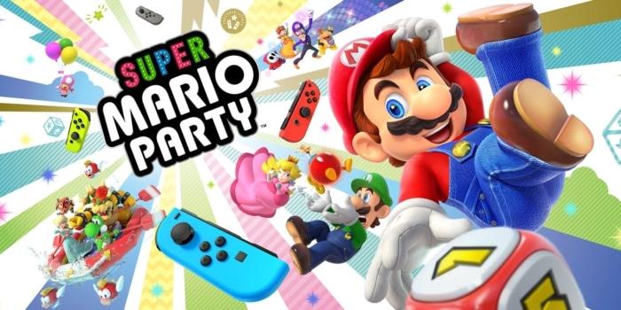 Super Mario Party Poster 2